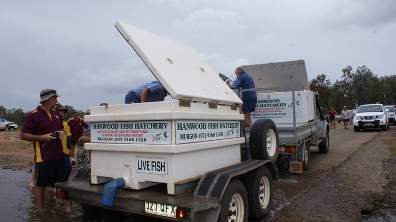 Hanwood Fish Hatchery Trailer